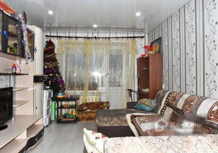 Продаётся 3-комнатная квартира, 59.7 м²
