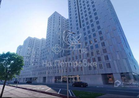 Продаётся 1-комнатная квартира, 41.95 м²