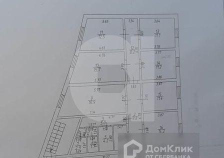 Продаётся 1-этажный дом, 510.8 м²