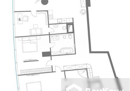 Продаётся 3-комнатная квартира, 185.9 м²